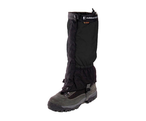 OUTDOOR DESIGNS Perma Gaiter Black eVent - thefrontier.com.au