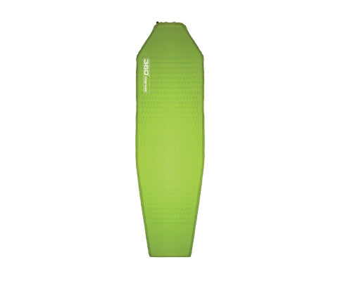 360 DEGREES Adventurer 3.5cm SI Mat - Lime - thefrontier.com.au