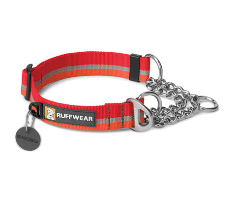 Chain Reaction Collar - Kokanee Red