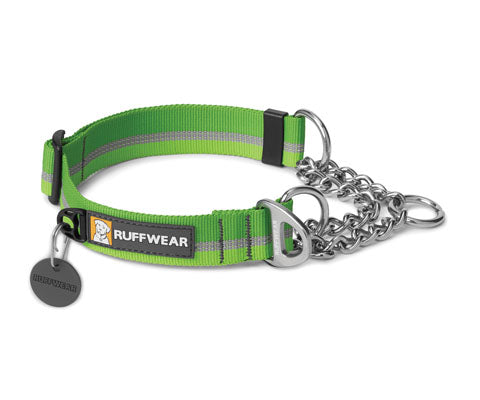 Chain Reaction Collar - Meadow Green