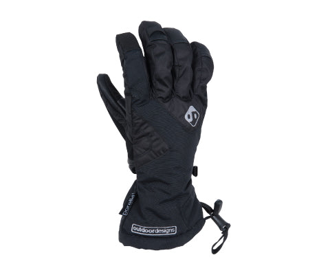 OUTDOOR DESIGNS Summit Glove Black - thefrontier.com.au