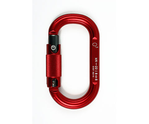 O3 Oval triple action gate Carabiner - thefrontier