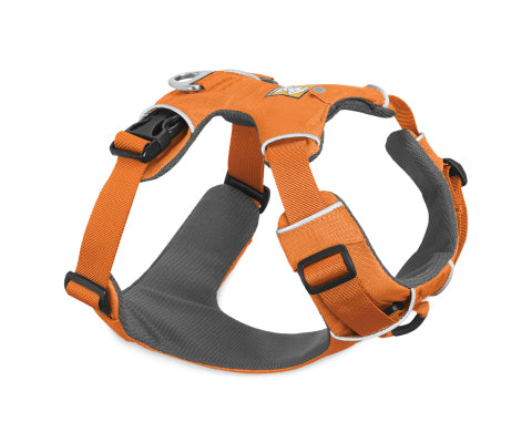 RUFFWEAR Front Range Harness - Orange Poppy - thefrontier.com.au