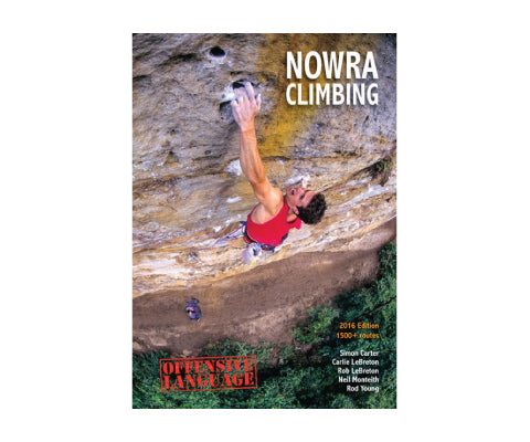 Nowra Climbing: 2016 Guidebook - thefrontier