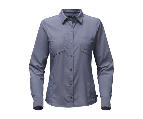 W L/S Sunblocker Shirt S17 - Shady Blue - thefrontier