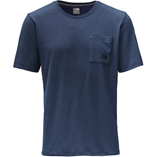 M S/S Crag Crew - Blue Heather
