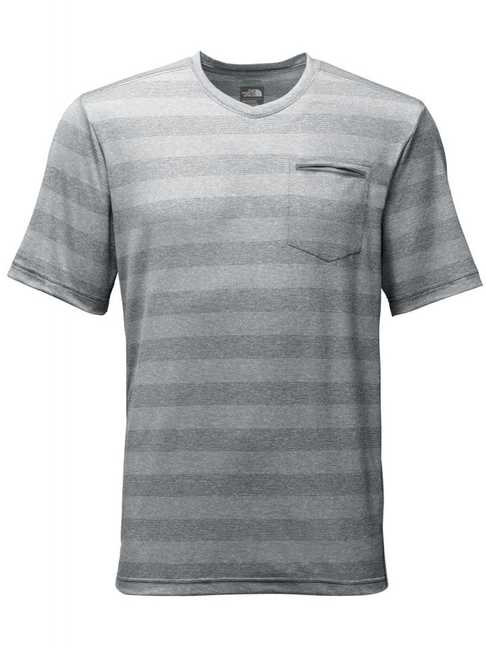 M S/S Unrestricted V-Neck - Zinc Grey - thefrontier