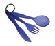 Tekk Cutlery Set Blue