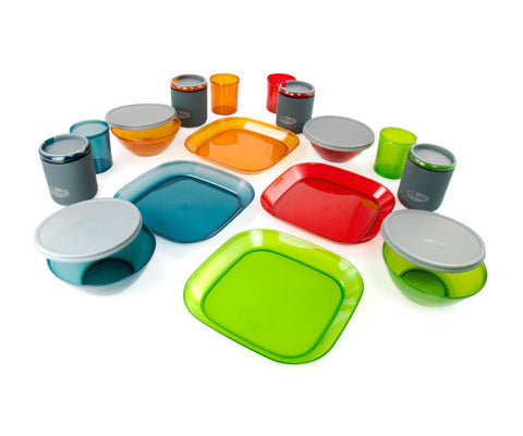 Infinity 4 Person Deluxe Tableset Multicolour - thefrontier