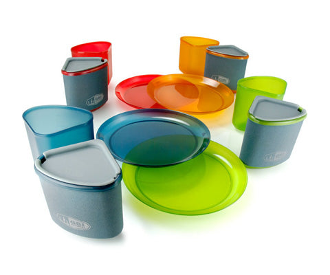 Infinity 4 Person Compact Tableset Multicolour