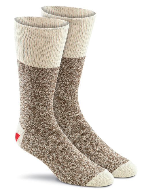 Original Rockford Red Heel - 2-pk Brown Heather
