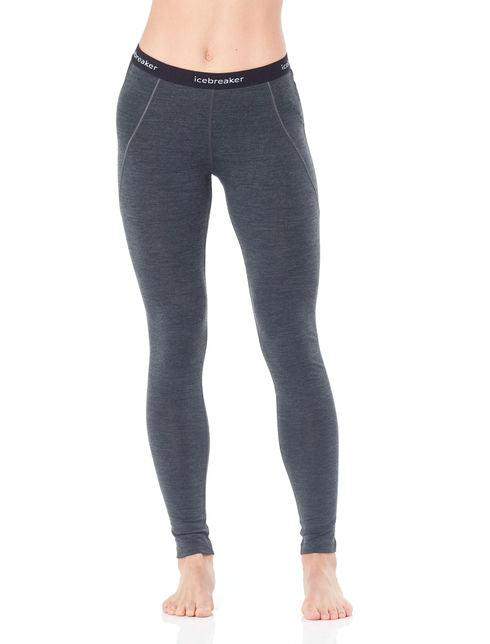 W 260 Zone Legging - Black/Snow - thefrontier