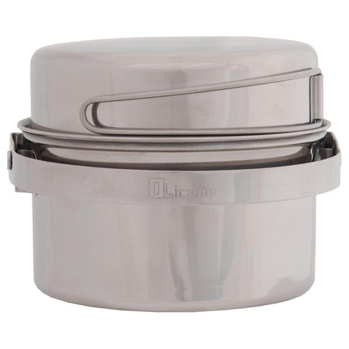 AK Cookset Stainless 3 Qt - thefrontier