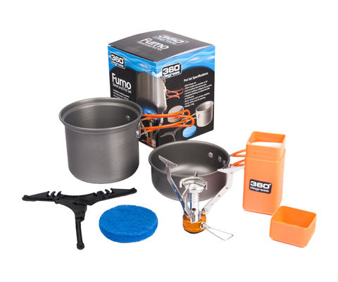 360 DEGREES Furno Stove & Pot Set - thefrontier.com.au