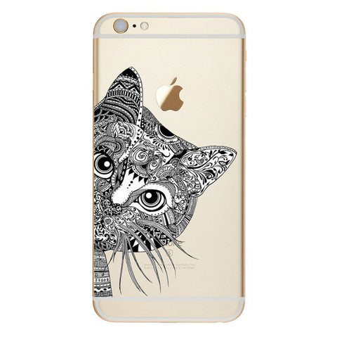 Magnificent Cat Drawing Phone Case - LOVEHAUL
