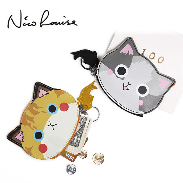 Cute Kitty Coin Purse