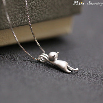 Hanging Cats Pendants Necklace - LOVEHAUL
