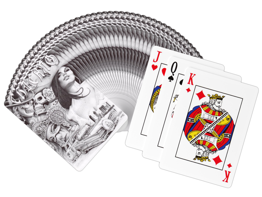 Chicano Art Playing Cards