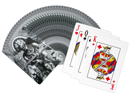 God of War Playing Cards