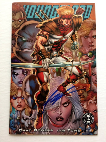 Youngblood #1 signed by Jim Towe ROB LIEFELD COVER IMAGE SOLD OUT
