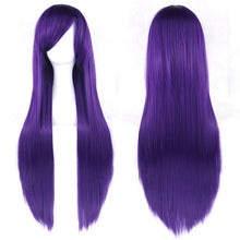 24 Colors Long Straight High Temperature -  Heat Resistant - Synthetic