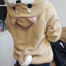 Cute Dodge hoodie WITH DOGGO EARS AND TAIL