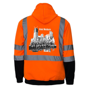 Iron Workers Reflective Hoodie - all-trade-apparel.