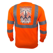 Honor Loyalty Reflective Long Sleeve - all-trade-apparel.