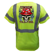 Union Till I Die Reflective T-Shirt - all-trade-apparel.