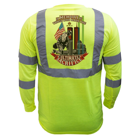 In Memory Reflective Long Sleeve - all-trade-apparel.