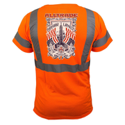 Honor Loyalty Reflective T-Shirt - all-trade-apparel.
