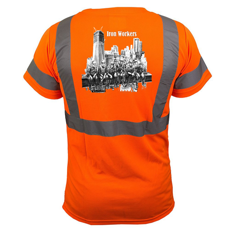 Iron Workers Reflective T-Shirt - all-trade-apparel.