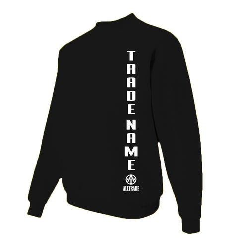 FPO Black Sweatshirt - all-trade-apparel.