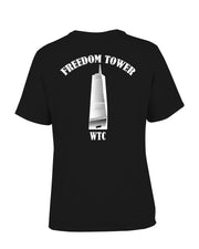 Freedom Tower T-Shirt - all-trade-apparel.