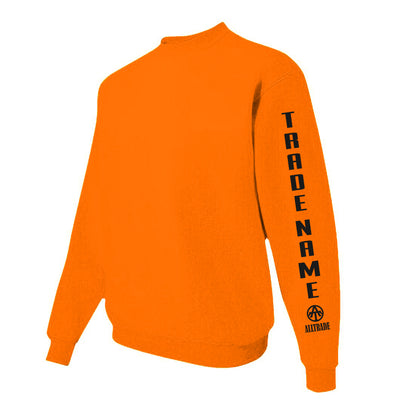 SPO Orange Sweatshirt - all-trade-apparel.
