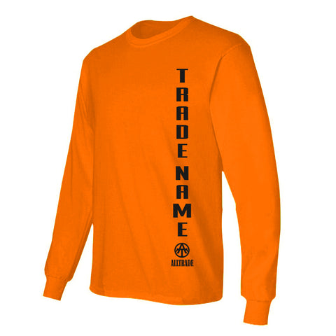 FPO Orange Long Sleeve - all-trade-apparel.