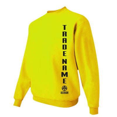 FPO Yellow Sweatshirt - all-trade-apparel.