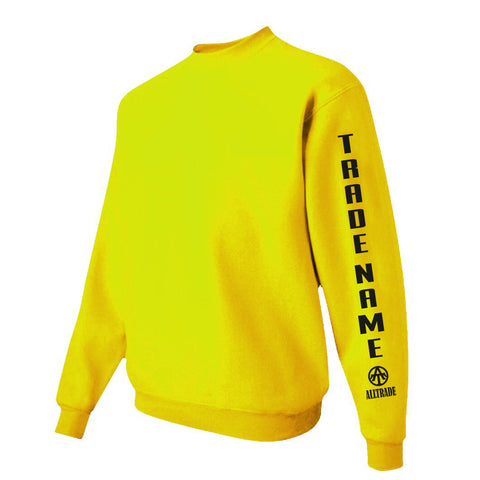 SPO Yellow Sweatshirt - all-trade-apparel.