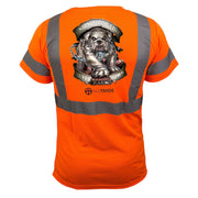 Bulldog Reflective T-Shirt - all-trade-apparel.