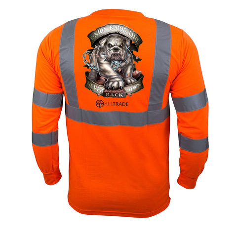 Bulldog Reflective Long Sleeve - all-trade-apparel.