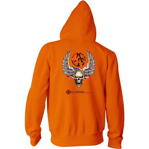 WINGED SKULL - all-trade-apparel.