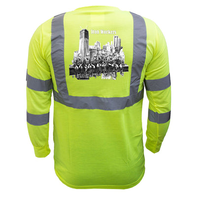 Iron Workers Reflective Long Sleeve - all-trade-apparel.