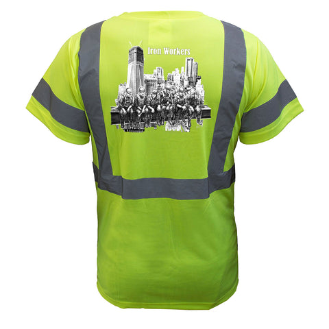 Iron Workers Reflective T-Shirt