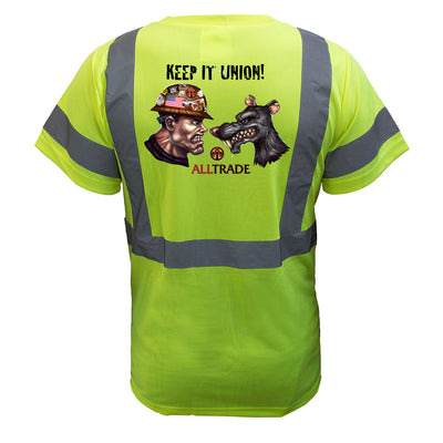 Keep It Union Reflective T-Shirt - all-trade-apparel.