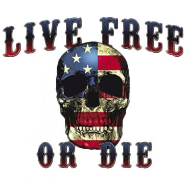 Live Free Or Die - all-trade-apparel.