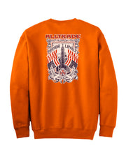 Honor Loyalty Sweatshirt - all-trade-apparel.