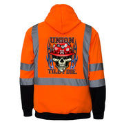 Union Till I Die Reflective Hoodies - all-trade-apparel.
