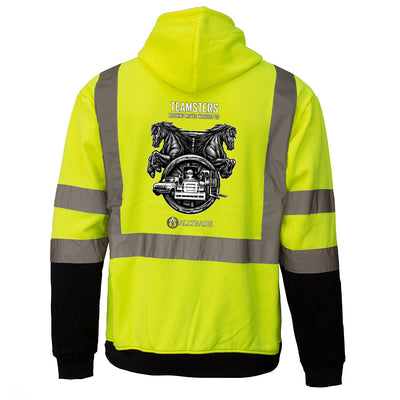 Teamsters Reflective Hoodie - all-trade-apparel.