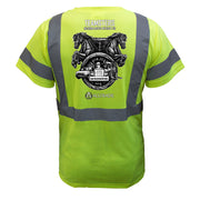 Teamsters Reflective T-Shirt - all-trade-apparel.