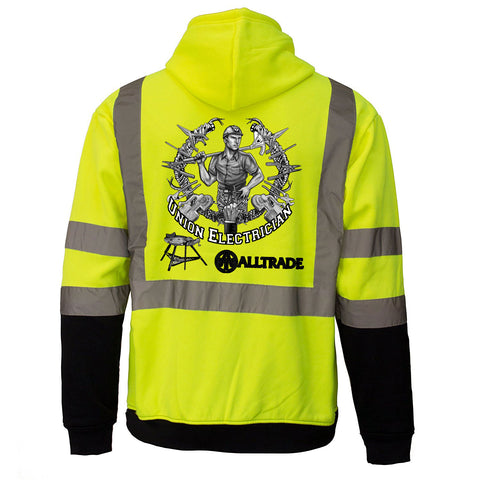 Electrician Reflective Hoodie